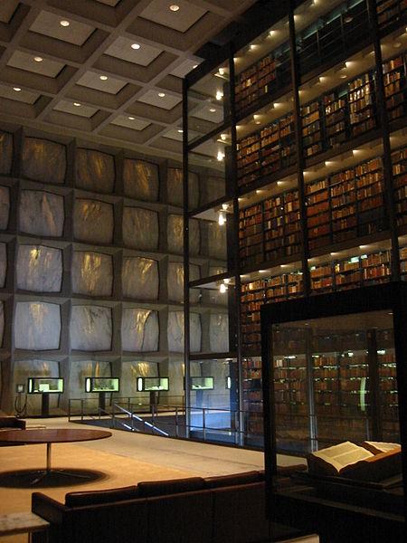 beinecke_library_interior